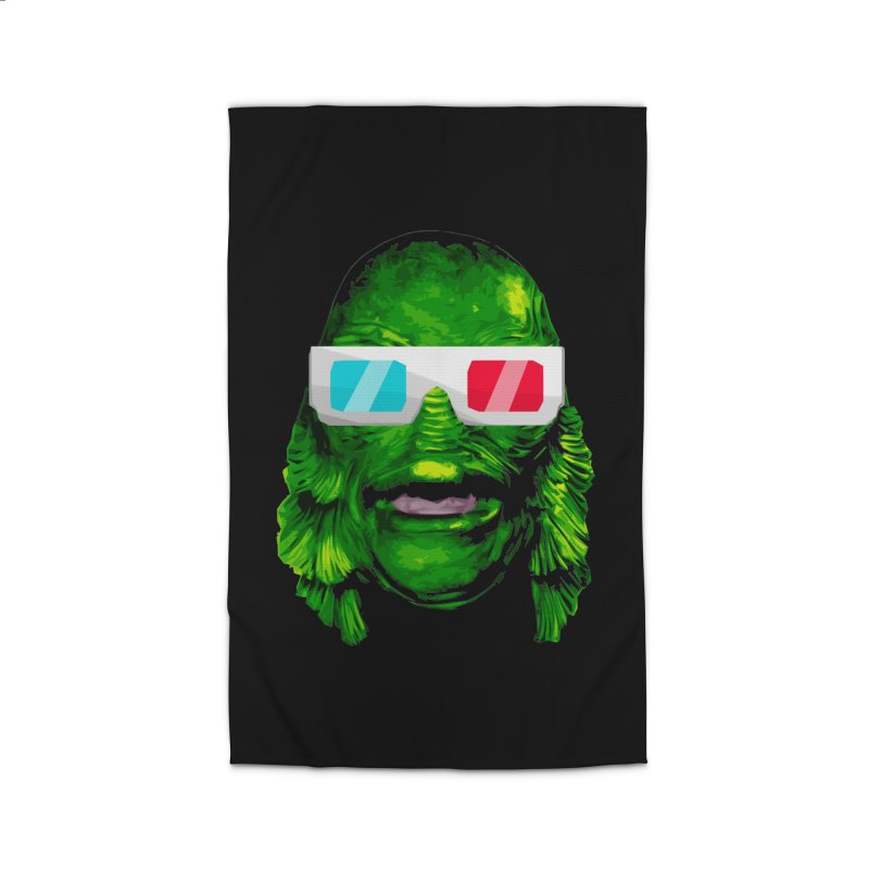 3-D MONSTER Home Rug by Brimstone Designs