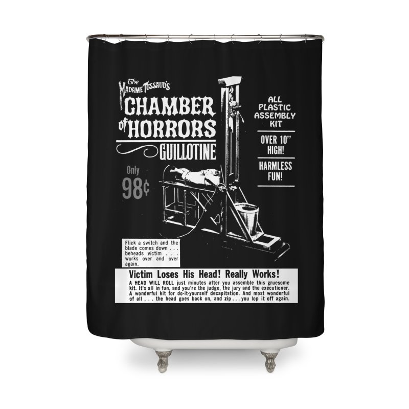 CHOP Home Shower Curtain by Brimstone Designs