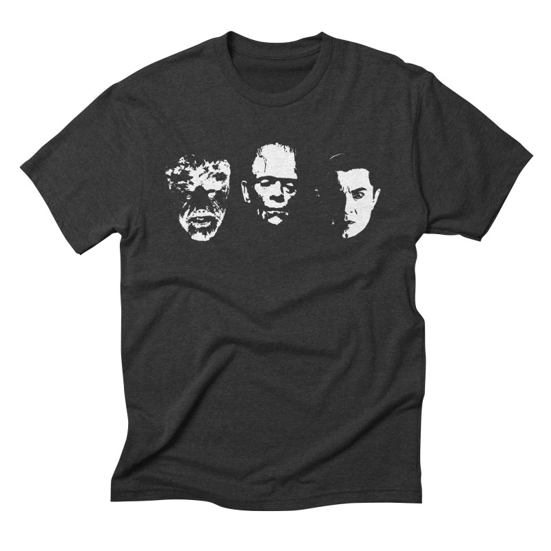 the big 3 Men's Triblend T-Shirt by Brimstone Designs