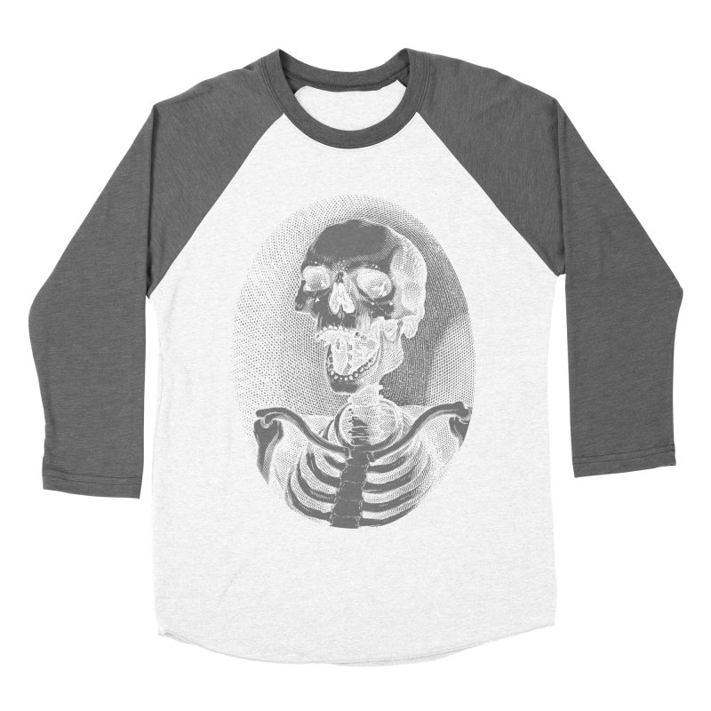 last laugh Men's Baseball Triblend T-Shirt by Brimstone Designs