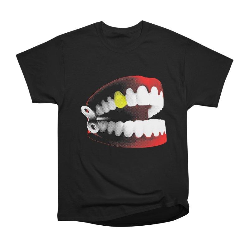 chatter Men's Heavyweight T-Shirt by Brimstone Designs