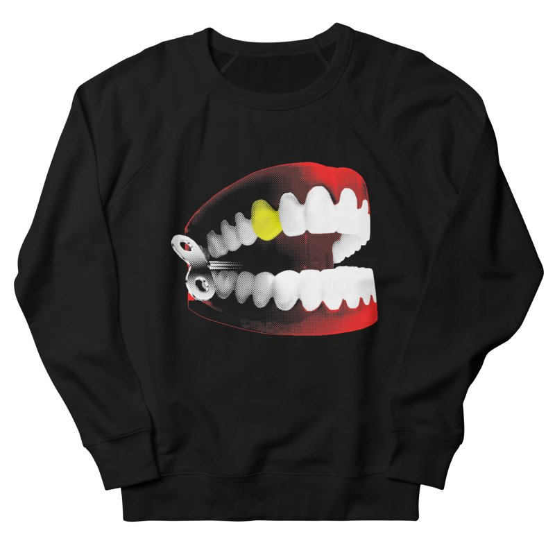 chatter Men's French Terry Sweatshirt by Brimstone Designs