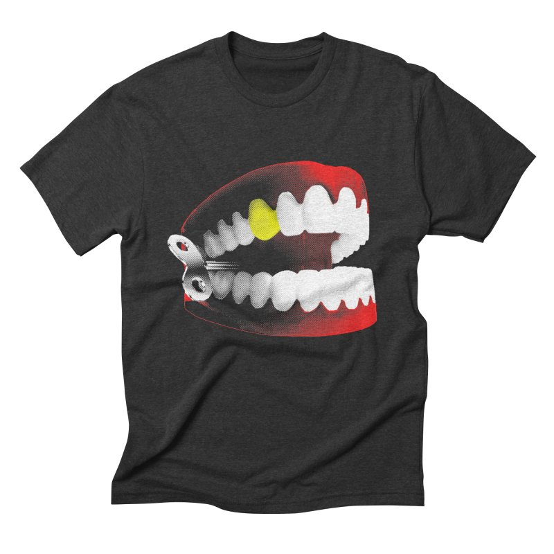 chatter Men's Triblend T-Shirt by Brimstone Designs