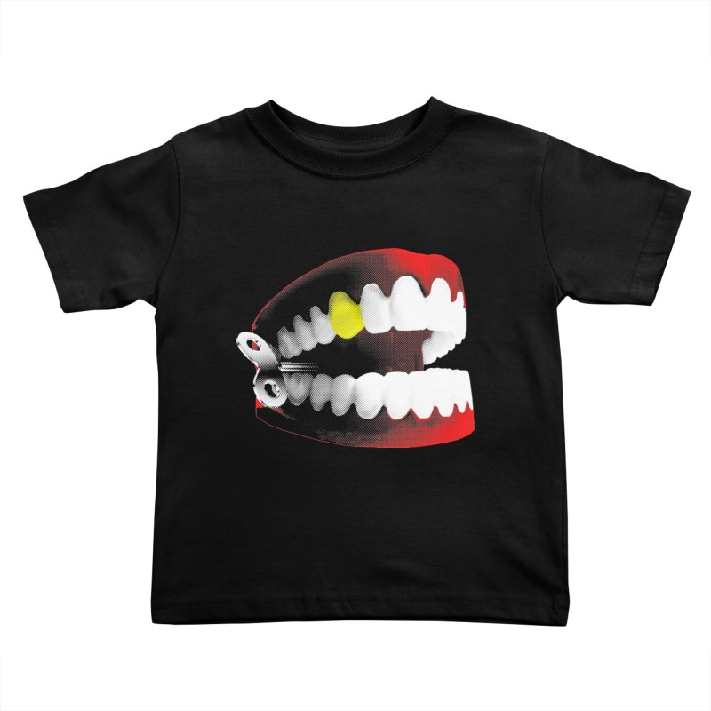 chatter Kids Toddler T-Shirt by Brimstone Designs