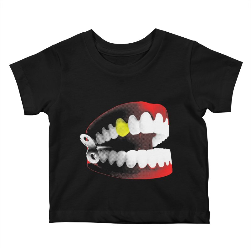 chatter Kids Baby T-Shirt by Brimstone Designs