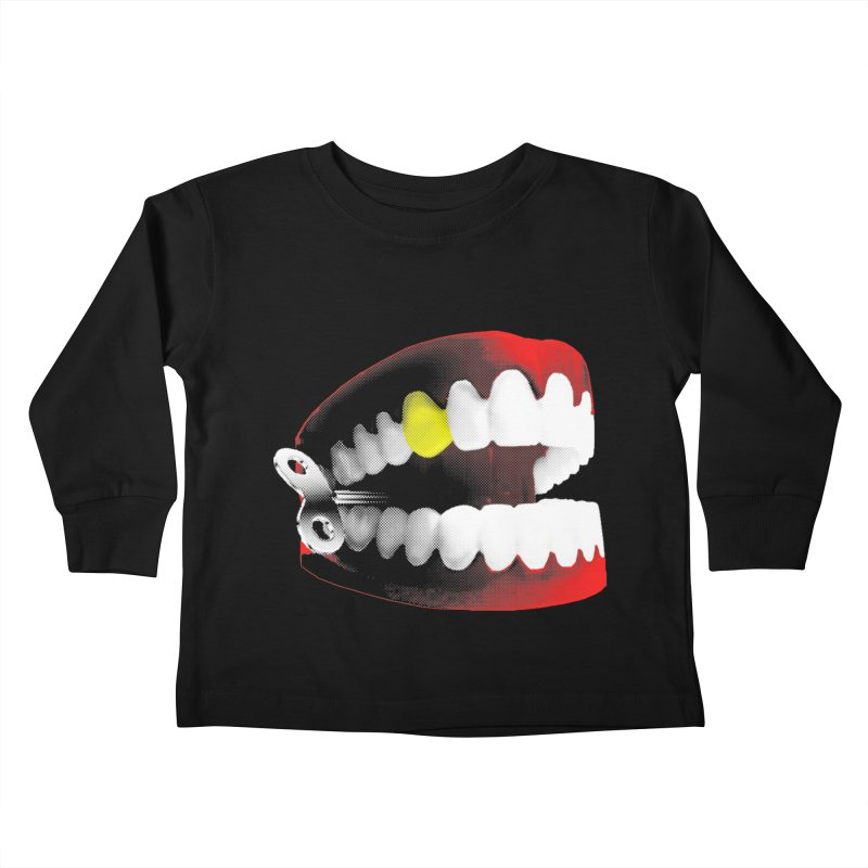 chatter Kids Toddler Longsleeve T-Shirt by Brimstone Designs