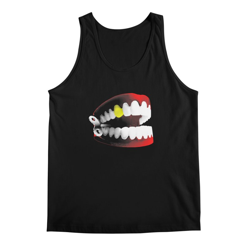 chatter Men's Tank by Brimstone Designs