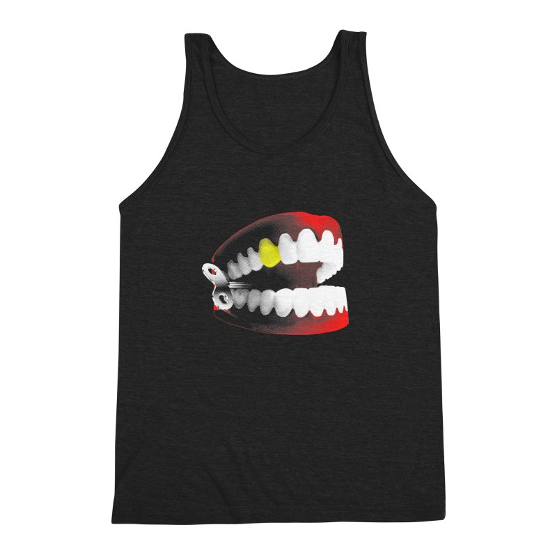 chatter Men's Triblend Tank by Brimstone Designs