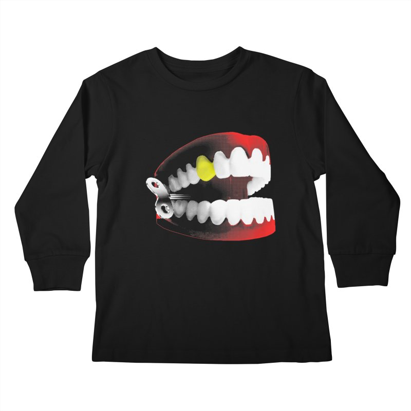 chatter Kids Longsleeve T-Shirt by Brimstone Designs