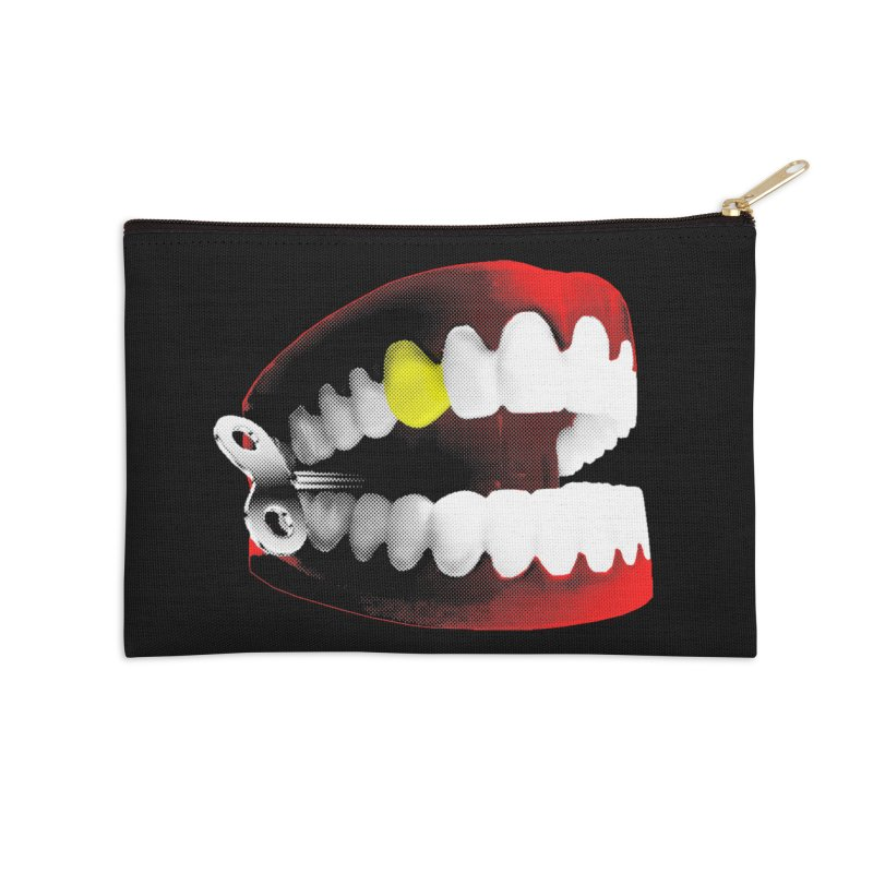 chatter Accessories Zip Pouch by Brimstone Designs