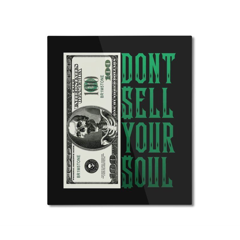 not for sale Home Mounted Aluminum Print by Brimstone Designs