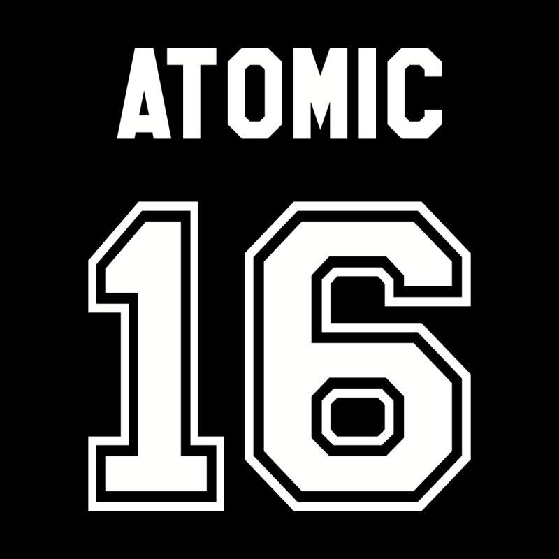 atomic number 16 by Brimstone Designs
