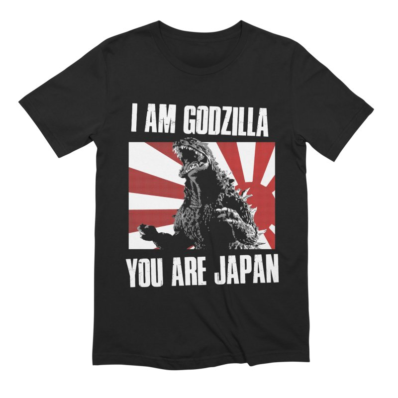 YOU ARE JAPAN Men's Extra Soft T-Shirt by Brimstone Designs