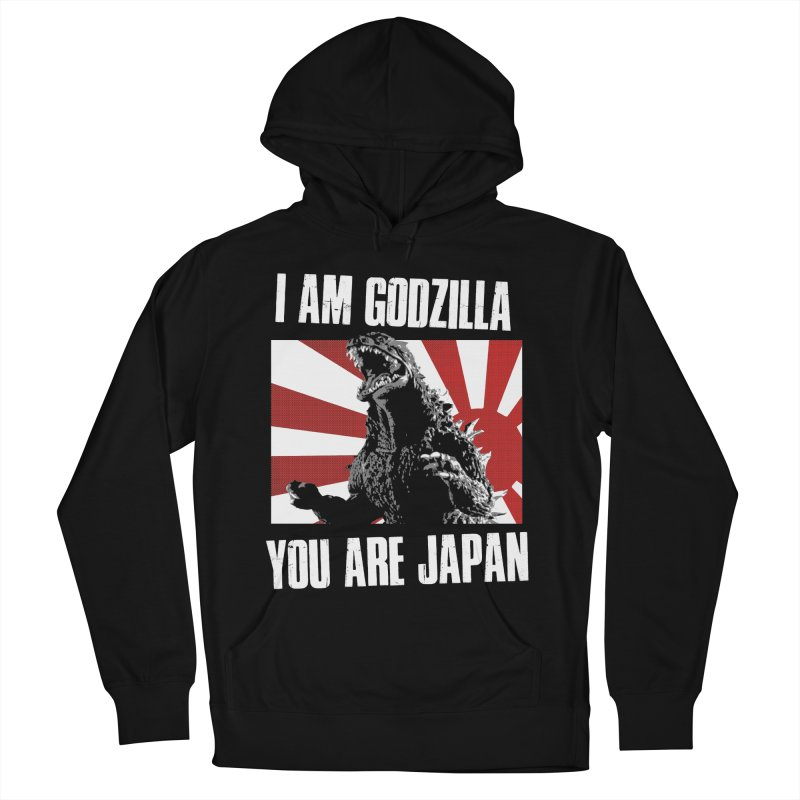 YOU ARE JAPAN Women's French Terry Pullover Hoody by Brimstone Designs