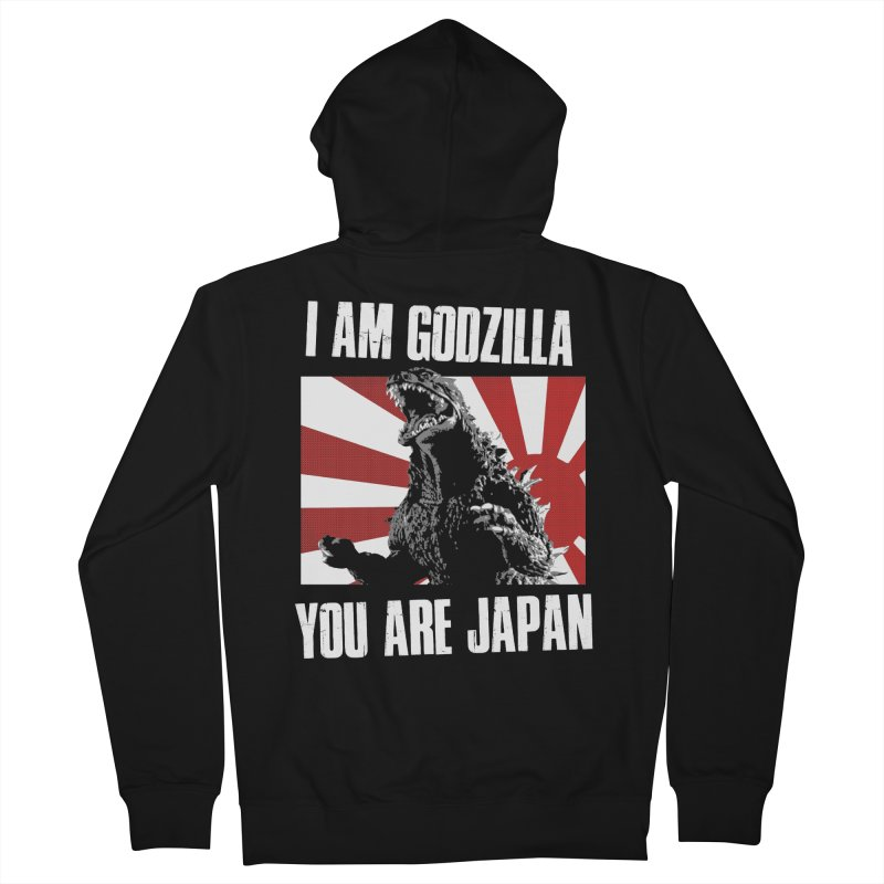 YOU ARE JAPAN Men's French Terry Zip-Up Hoody by Brimstone Designs