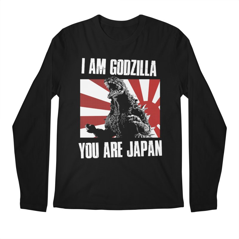 YOU ARE JAPAN Men's Regular Longsleeve T-Shirt by Brimstone Designs