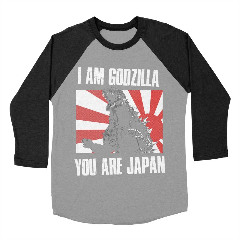 YOU ARE JAPAN Men's Baseball Triblend Longsleeve T-Shirt by Brimstone Designs