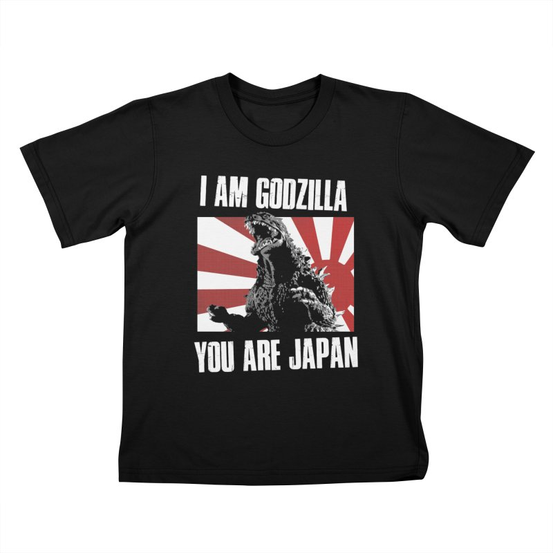 YOU ARE JAPAN Kids T-Shirt by Brimstone Designs