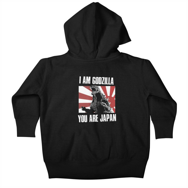 YOU ARE JAPAN Kids Baby Zip-Up Hoody by Brimstone Designs