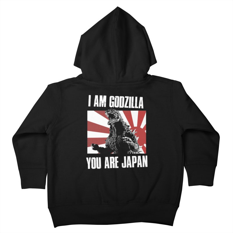 YOU ARE JAPAN Kids Toddler Zip-Up Hoody by Brimstone Designs