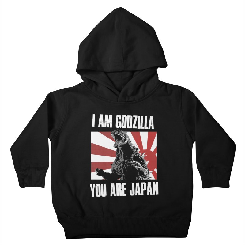 YOU ARE JAPAN Kids Toddler Pullover Hoody by Brimstone Designs