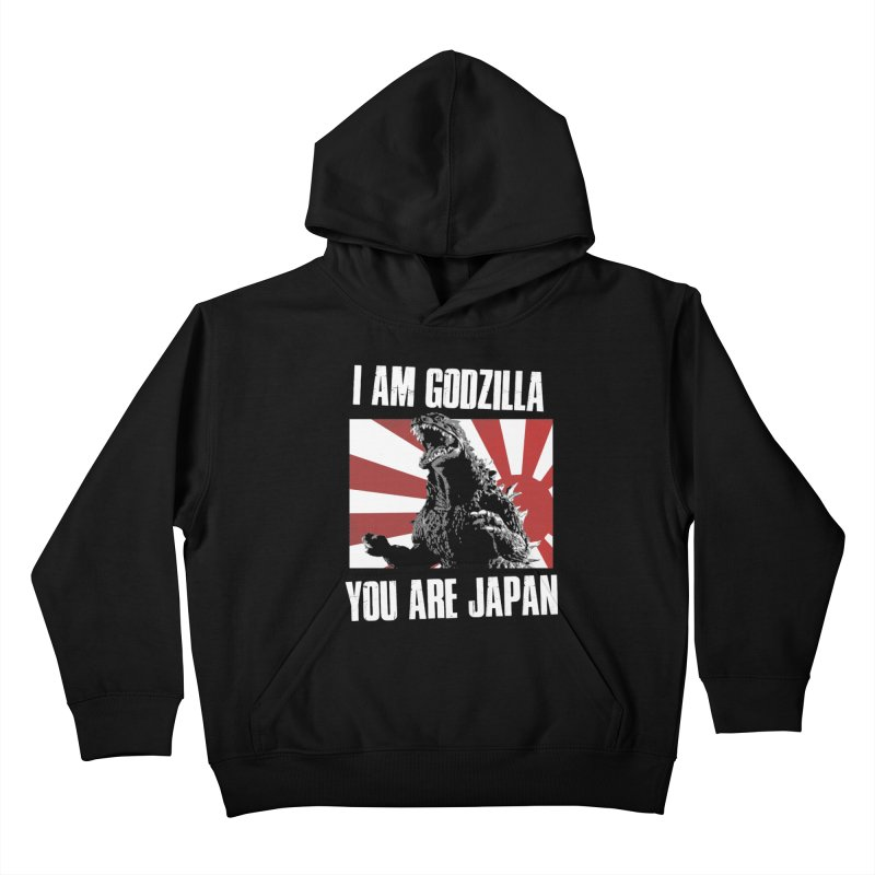 YOU ARE JAPAN Kids Pullover Hoody by Brimstone Designs