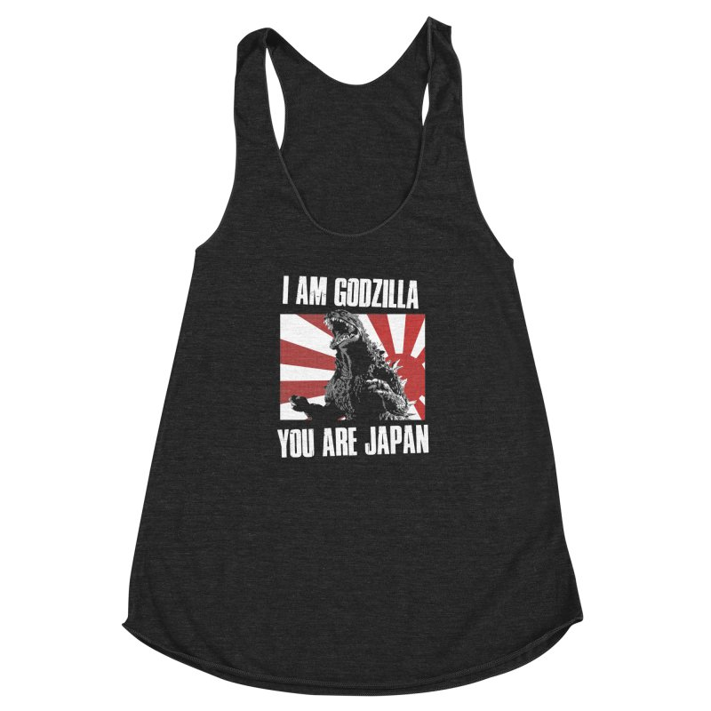 YOU ARE JAPAN Women's Racerback Triblend Tank by Brimstone Designs