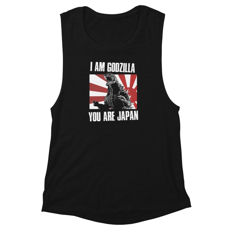 YOU ARE JAPAN Women's Muscle Tank by Brimstone Designs