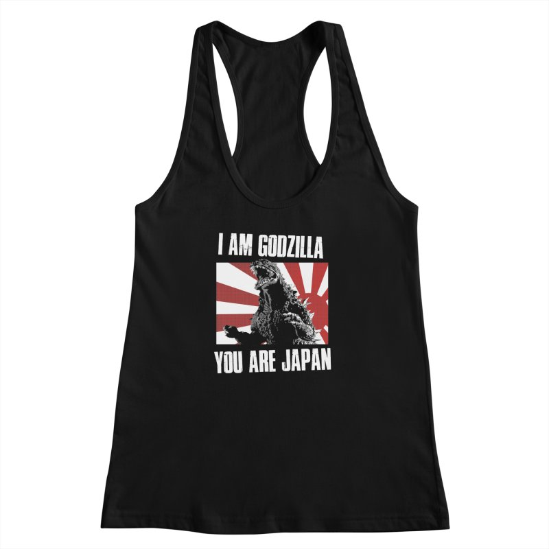 YOU ARE JAPAN Women's Racerback Tank by Brimstone Designs