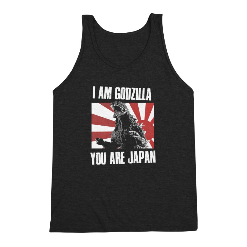 YOU ARE JAPAN Men's Triblend Tank by Brimstone Designs