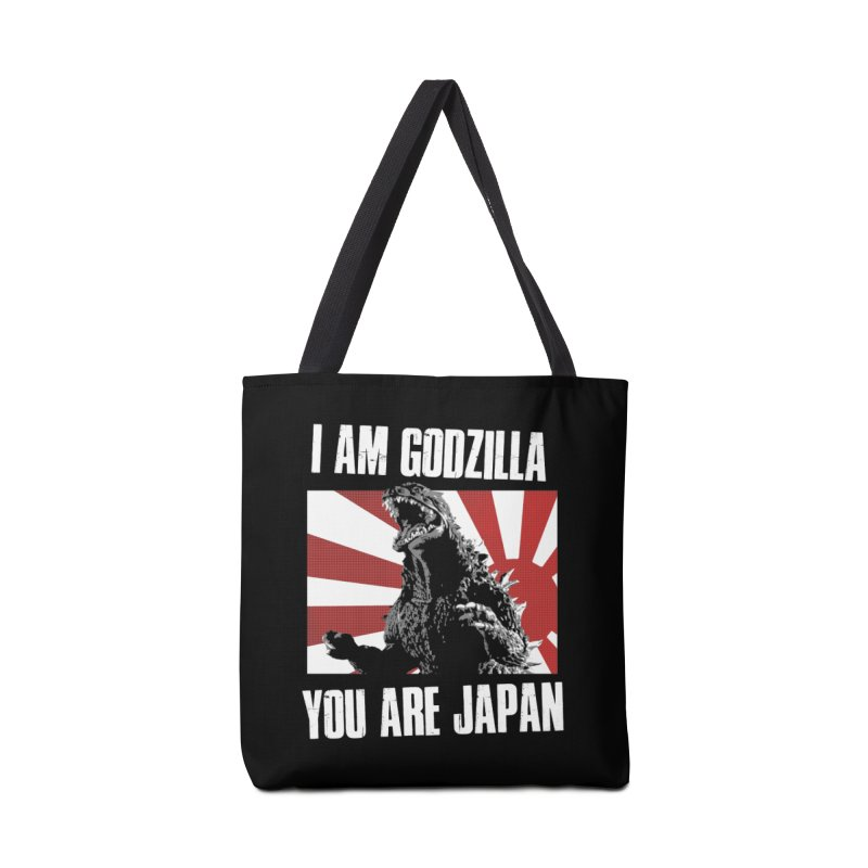 YOU ARE JAPAN Accessories Tote Bag Bag by Brimstone Designs
