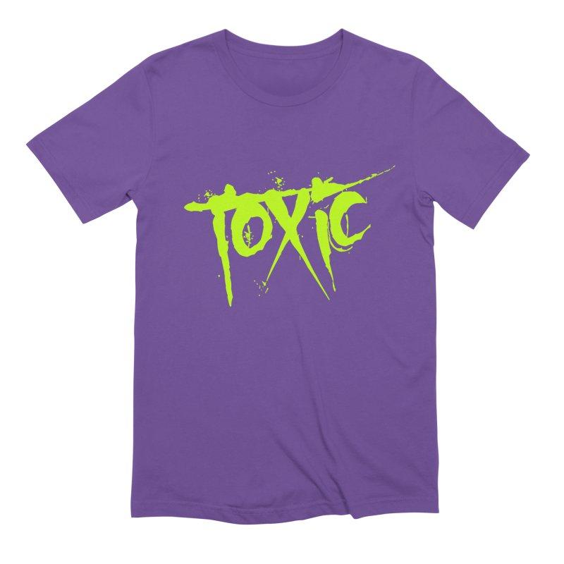 TOXIC Men's Extra Soft T-Shirt by Brimstone Designs