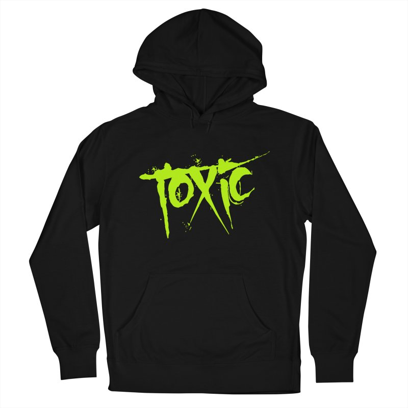 TOXIC Men's French Terry Pullover Hoody by Brimstone Designs