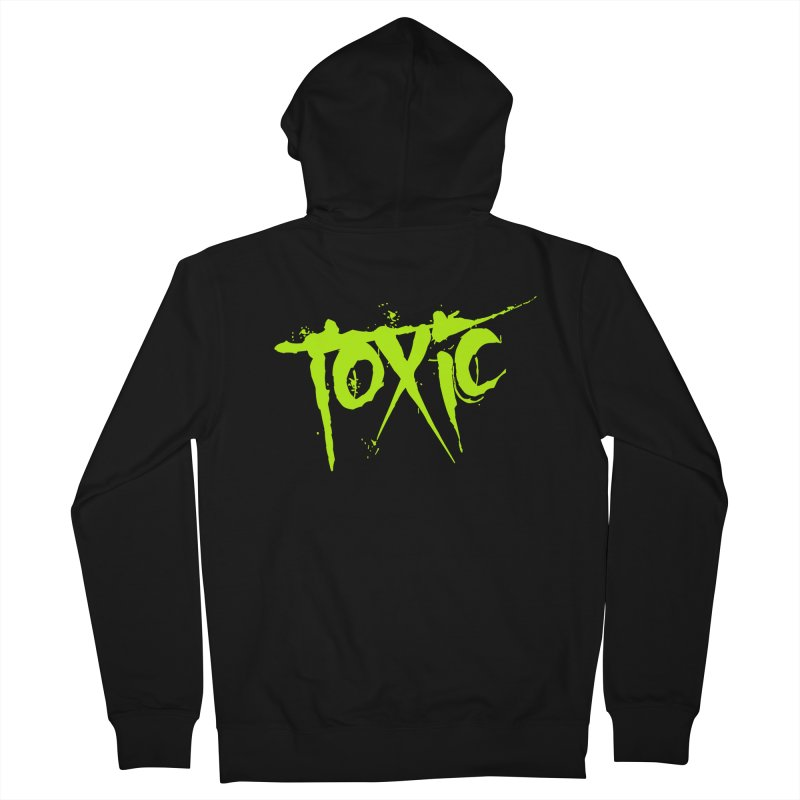 TOXIC Women's French Terry Zip-Up Hoody by Brimstone Designs