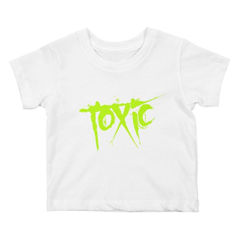 TOXIC Kids Baby T-Shirt by Brimstone Designs