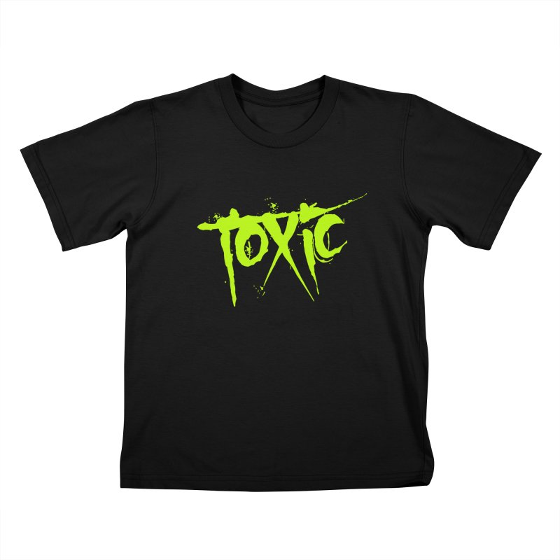 TOXIC Kids T-Shirt by Brimstone Designs
