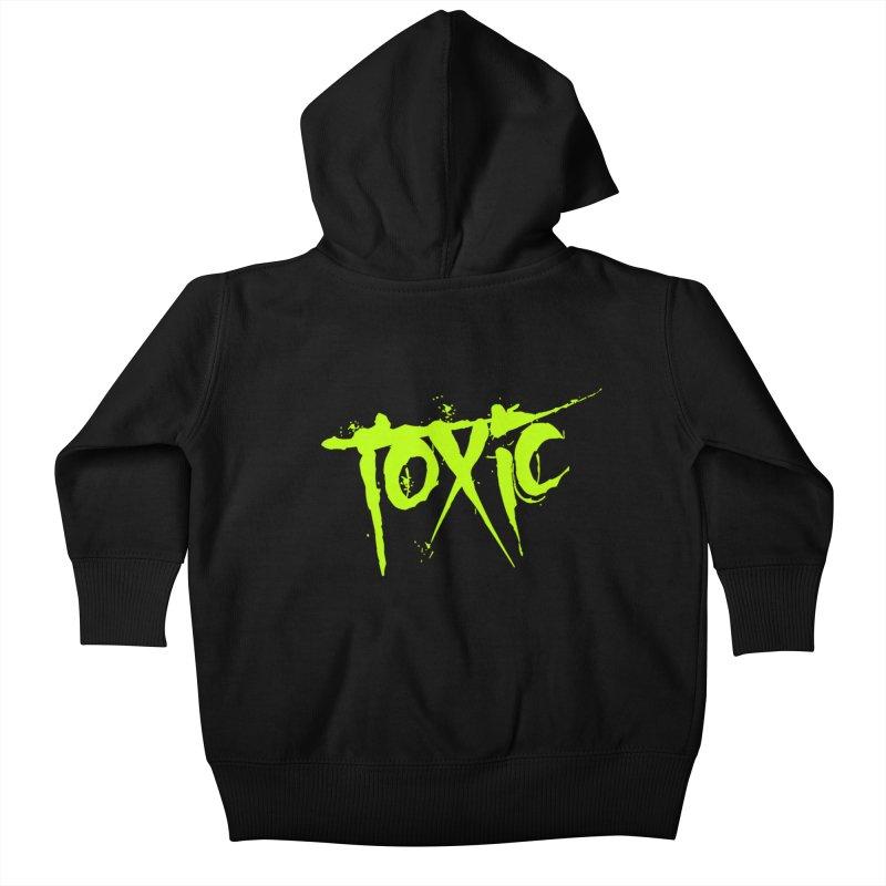 TOXIC Kids Baby Zip-Up Hoody by Brimstone Designs
