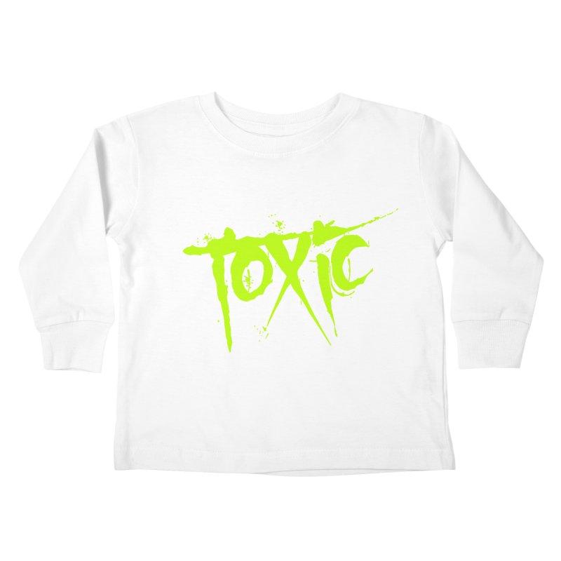 TOXIC Kids Toddler Longsleeve T-Shirt by Brimstone Designs