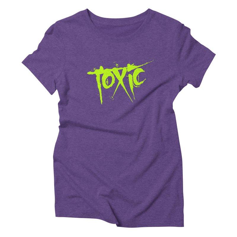 TOXIC Women's Triblend T-Shirt by Brimstone Designs