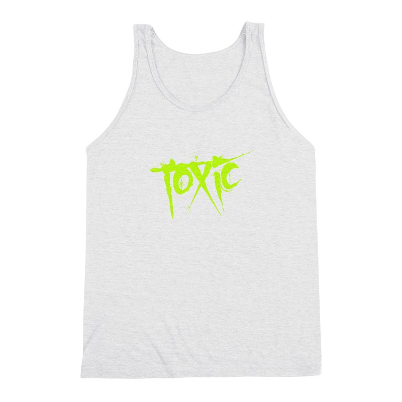 TOXIC Men's Triblend Tank by Brimstone Designs