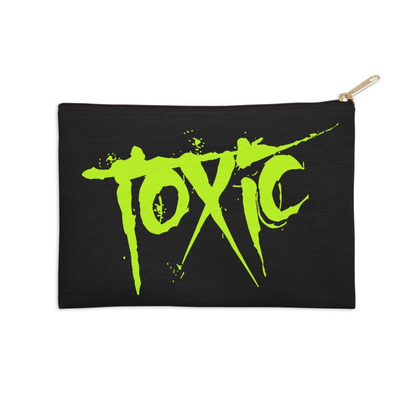 TOXIC Accessories Zip Pouch by Brimstone Designs