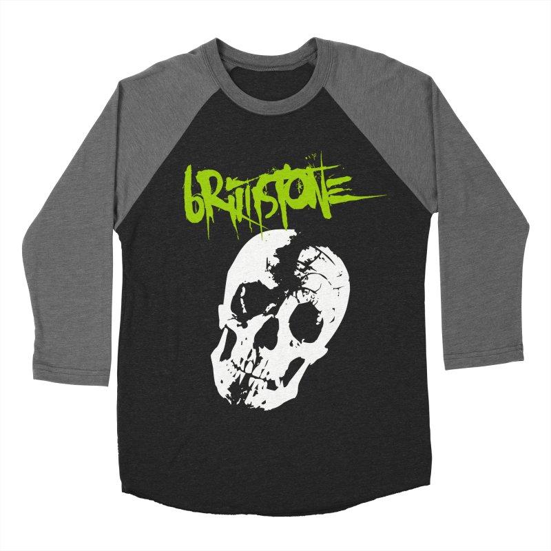 TILT Women's Baseball Triblend Longsleeve T-Shirt by Brimstone Designs