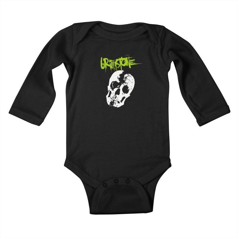 TILT Kids Baby Longsleeve Bodysuit by Brimstone Designs