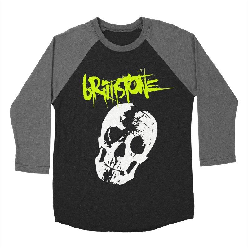 TILT Men's Baseball Triblend Longsleeve T-Shirt by Brimstone Designs