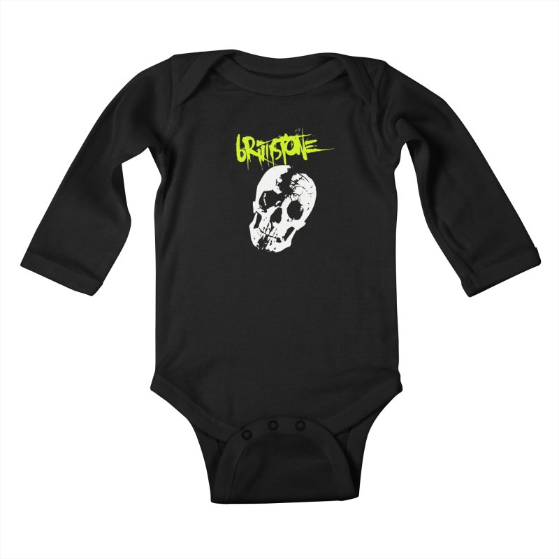 TILT Kids Baby Longsleeve Bodysuit by Brimstone Designs