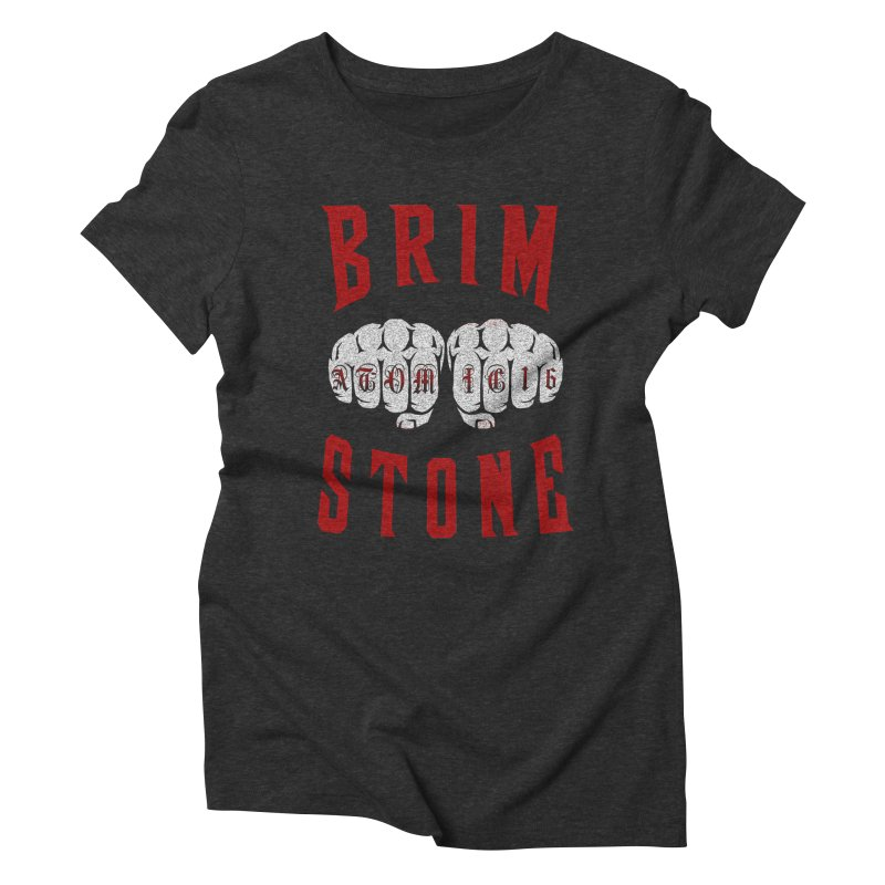 KNUCKLES Women's Triblend T-Shirt by Brimstone Designs