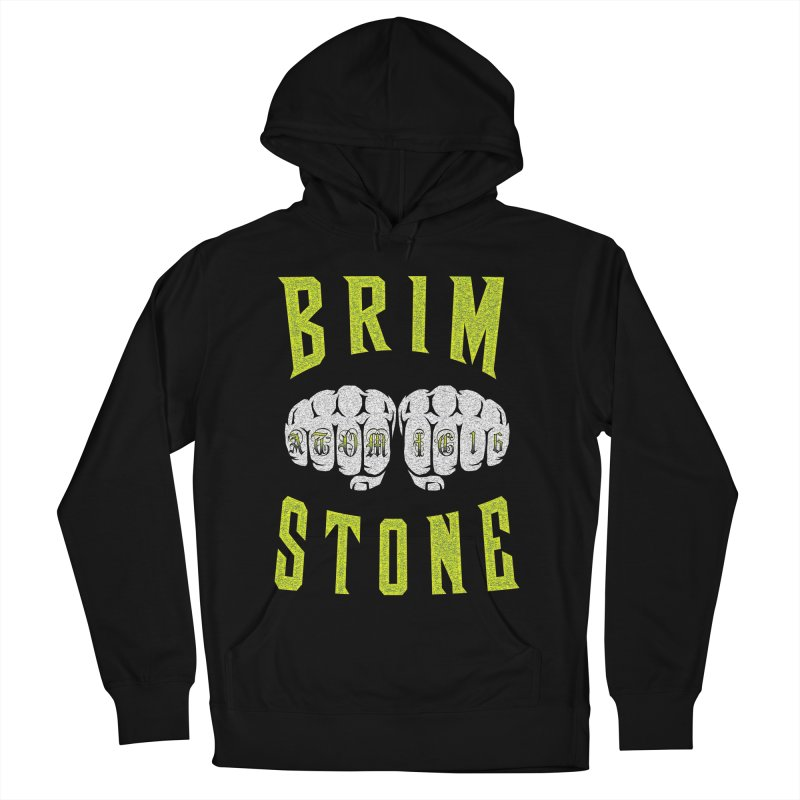 KNUCKLES Men's French Terry Pullover Hoody by Brimstone Designs