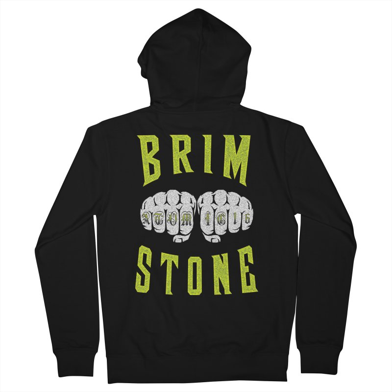 KNUCKLES Men's French Terry Zip-Up Hoody by Brimstone Designs