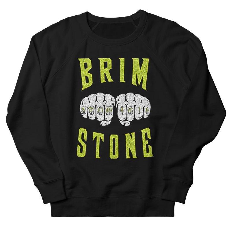 KNUCKLES Women's French Terry Sweatshirt by Brimstone Designs