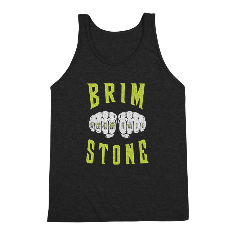 KNUCKLES Men's Triblend Tank by Brimstone Designs